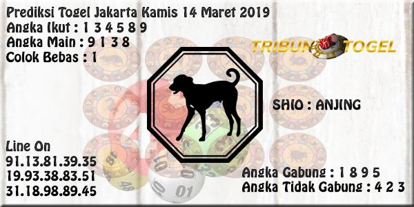 Prediksi Togel Jakarta 14 Maret 2019