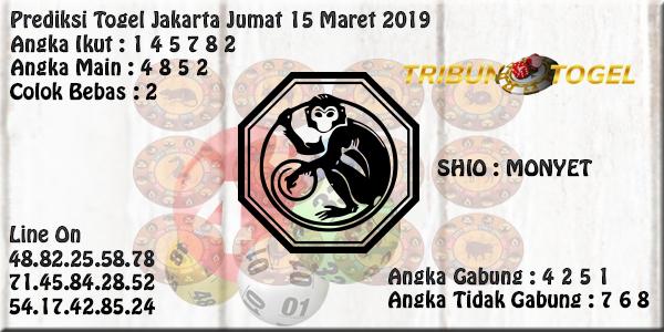 Prediksi Togel Jakarta 15 Maret 2019
