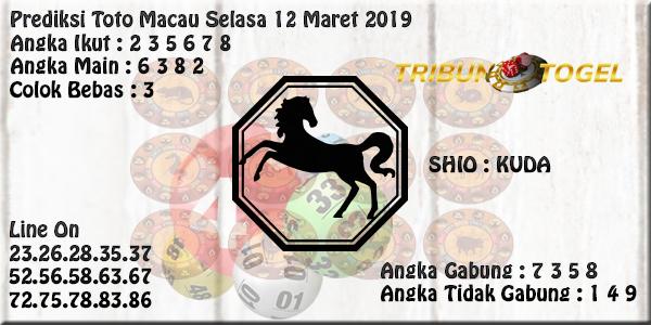 Prediksi Toto Macau 12 Maret 2019