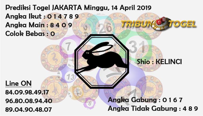 Prediksi Togel Jakarta 14 April 2019