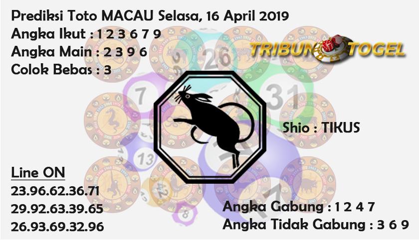 Prediksi Toto Macau 16 April 2019